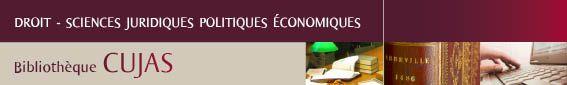 Bibliothèque interuniversitaire Cujas logo